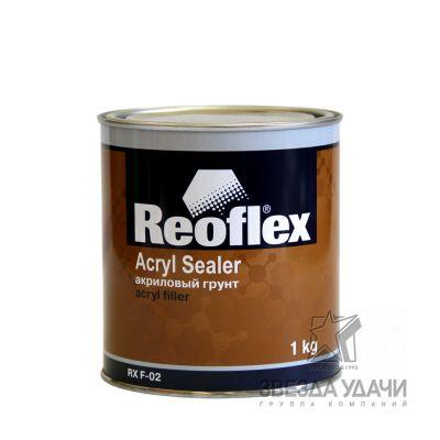 Грунт 1К акриловый 1 кг серый Reoflex