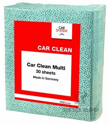 Салфетка малярная CAR CLEAN MULTI, 38*32см (30шт) Carsystem