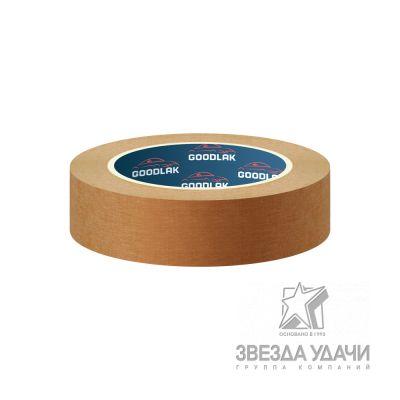 Скотч 24мм*42м, 110С, коричневый Goodlak