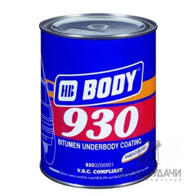 Антикор 930 черный 1 кг Body/уп 6