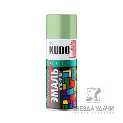 Светло-зеленая эмаль универсальная 520 мл Kudo