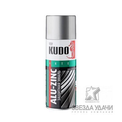Алюминиево-цинковая защитная эмаль универс. 520 мл. Кudo