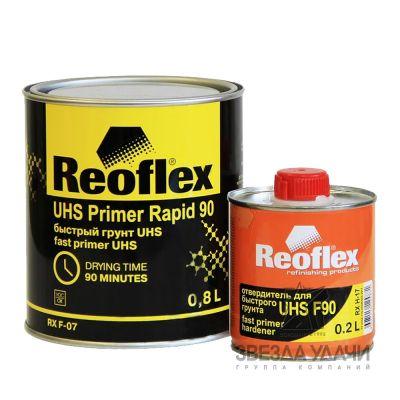 Грунт быстрый UHS 0,8л черный без отвердителя Reoflex