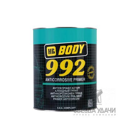 Антикоррозийный праймер грунт 992 серый 1кг Body