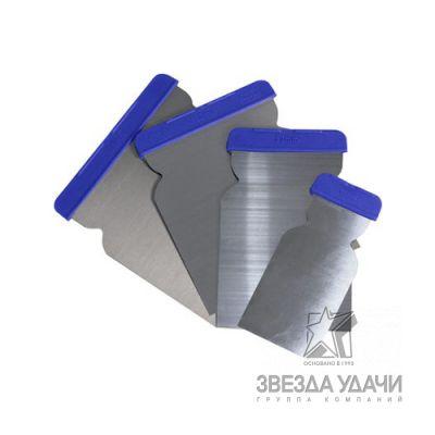 CF Набор гибких металлических шпателей 50-80-100-120 мм