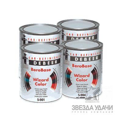 BeroBase Wizard Color 5-905 из зототистого в серебристый 1л DeBeer