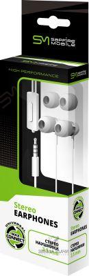Стереонаушники 3,5мм SAPFIRE Mobile