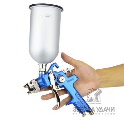 Краскопульт HVLP AS-1001 1.7mm верхний бачок 600мл Voylet