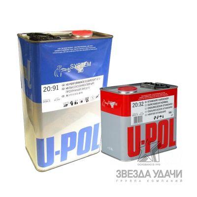 U-POL Акция Комплект Лак HS S2081 1,0 л. + Отверд. S2032/M 500 мл.
