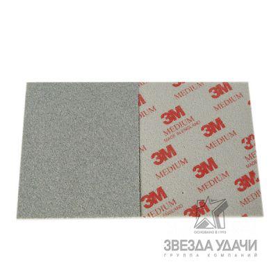Губка абразивная, Softback Superfine, P-400, 115*140мм 3М