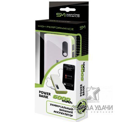 SAM-0920 Универсальный внешний аккумулятор 6000 mAh SAPFIRE Mobile